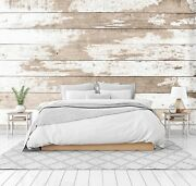 3d White Old Wood Board 46 Wall Paper Wall Print Decal Wall Deco Indoor Murals