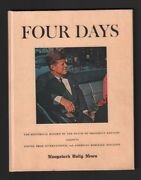 Four Days Hardcover - Historical Record Of The Death Of President John F Kennedy