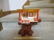 Vintage Hasbro Weebles Playhouse Treehouse Tree House Only Set Lot Part