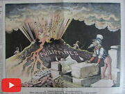 Uncle Sam And Columbia Color Cartoon Images 1899-1904 Lot X 6 Rare Newspapers