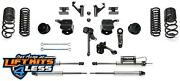 Fabtech K3139dl 5basic Liftkit W/coil Springs And Shocks For 2014-19 Ram 2500 4wd