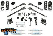 Fabtech K3158 7 4 Link Lift Kit W/coil Springs And Per. Shocks For 14-19 Ram 2500