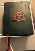 Custom Book Of Shadows Charmed Tv Replica 9x12 Large Journal Wicca Prop +-sizes