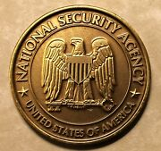National Security Agency Nsa Wonand039t Back Down Never Have Or Will Challenge Coin