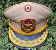 Coup Dand039etat Against Stroessner Era Paraguay Chief Inspector Police Hat Obsolete