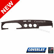 Dark Brown Dash Board Cover W/sensor 10-283-dbr For Datsun 280zx -coverlay