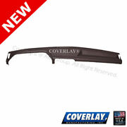 Dark Brown Dash Board Cover 12-113-dbr For Bronco Front Left Right -coverlay