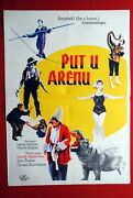 Road To The Stage Circus Russian 1963 Rare Exyu Movie Poster