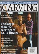 Wood Carving Magazine The Larger Than Life Carving Of Alex Jones