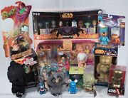 Lot Of 17 Rare Collectible Toys Some Vintage Custom Disney Vinylmation Le 1/1
