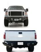 Smittybilt M1 Winch Mount Front And Rear Bumper 11-2015 For F-250 F-350 Super Duty