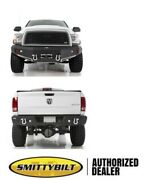 Smittybilt M1 Winch Mount Front And Rear Bumper 612802 10-2015 For Ram 2500 3500