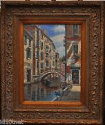 Sam Park - Sestiere Di San Polo - S/n Framed Giclee On Canvas Deluxe