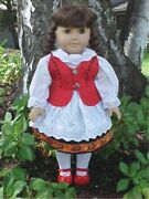 German National Costume Dress Doll Clothes For 18 American Girl Debs