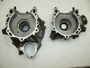 1997 Polaris Trailblazer 250 Engine Crankcases Motor Block - Matched Set - Nice