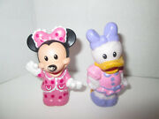 Fisher Price Little People Magic Of Disney Minnie Mouse Daisy Duck Pink Pajamas