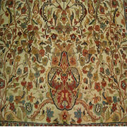 Tree Of Life Birds Harmony Area Rug Wool Silk Hand Knotted Carpet 11.2 X 8.0and039