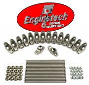 Rocker Arms And Pushrods For 1955-1986 Chevrolet Sbc 400 350 327 307 305 302 283