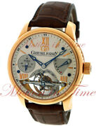 Greubel Forsey Double Tourbillon 30anddeg Gf 02 Vision Silver Dial Rose Gold On Strap