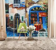 3d Water Boat Shop 563 Wall Paper Wall Print Decal Wall Deco Indoor Mural Carly