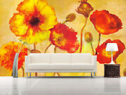 3d Modern Floral Art 43 Wall Paper Wall Print Decal Wall Deco Indoor Mural Carly