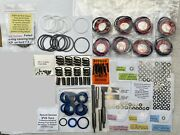 International T444e Inj. Deluxe Rebuild Kit Ext And Int Seals Springs And Shims