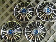 Vintage 1967 67 Ford Fairlane Galaxie Hubcaps Wheel Covers Center Caps Antique