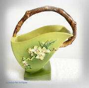 Roseville Very Rare And Large - Apple Blossom Vase 311 - 12