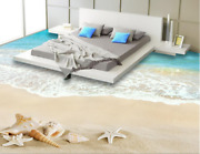 3d Beach Shell Tide 5 Floor Wallpaper Murals Wall Print Decal Aj Wallpaper Us