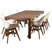 International Home Amazonia Charlotte Deluxe 9 Piece Patio Dining Set