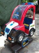 Falgas Coin Operated Kiddie Ride New York Police Car Runs Great Ride 203
