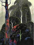 Eyvind Earl  Early Autumn  Serigraph On Paper