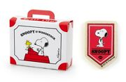 Peanuts Snoopy And Woodstock Happy 50th Years In Japan Wooden Magnet Pennant Flag