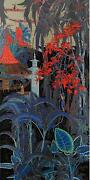 Ting Shao Kuang  Sacred Village  Serigraph On Paper  Td