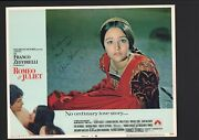 Olivia Hussey - Signed Autograph Lobby Card - Romeo And Juliet