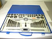 Interstate 8/32 - 1-14 Tap Incomplete 60pc Npt Unc Unf Tap And Die Set 03959038