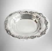 Bailey Banks Biddle Sterling Silver Footed Bread Tray Or Bowl