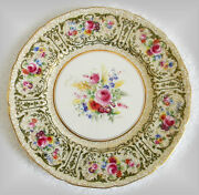 Royal Doulton Set Of 12 Dinner Plates - Hand Painted Artist Signed