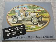 Cars That Built Gm Sales Brochure - Vintage Oldsmobile Buick Cadillac Chevy