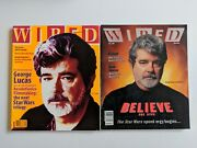 Lot Of 2 Wired Magazine February 1997 May 1999 George Lucas Star Wars Trilogy