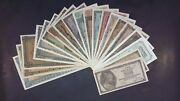Greece - Set 20 X Inflation Notes 1941, 42, 43, 44 Rare 100 Unc Grade - Wwii