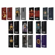 Star Trek Iconic Characters Tng Leather Book Case For Microsoft Nokia Phones