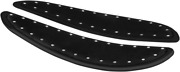 Cyclesmiths Curved Black 19 Banana Driver Floorboards For Harley Flht 80-16