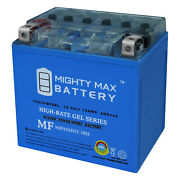 Mighty Max Ytx14-bs Gel Battery Replaces Suzuki 400 Lt-a400 King Quad 09-12