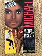 Michael Jackson The Legend Continues 1989 Vhs - Very Rare Collectible