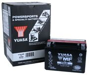 Yuasa Ytx9-bs Suzuki Gsx650f And03908-and03911 Motorcycle Agm Fresh Pack 12 Volt Battery