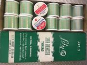 Lot Of 300 Yd Multi Color Polyester Thread . 1080 Spools In All.