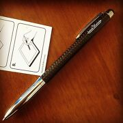 Jaeger-lecoultre Luxury Carbon Ballpoint Pen And Stylus For Touch-screen Rare 2016
