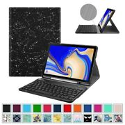 Keyboard Case For Samsung Galaxy Tab S4 10.5 Sm-t830 2018 Folio Case Cover Stand