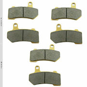 Dbx Brake Pads Fits Harley Davidson Flhx Street Glide Andrsquo08-20 Oe Replacement